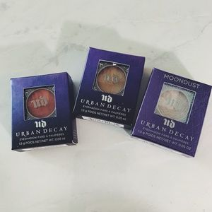 URBAN DECAY Eyeshadow in 3 colors: